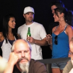 Girls on the Rail at the 2009 WSOP