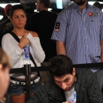 Bahador Ahmadi and Hevad Kahn at the 2009 WSOP