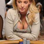 Lacey Jones at the 2009 WSOP