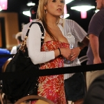 Cute nipple-less girl at the 2009 WSOP