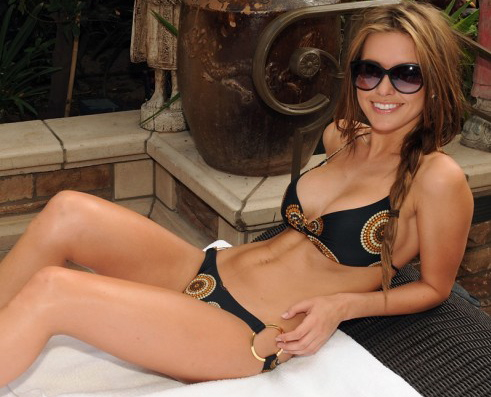 In a chess match between Audrina Patridge and a shoe, we'd give the edge to the shoe.