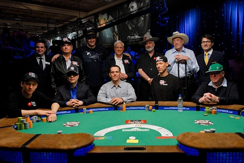 Ten of poker's all-time greats competed for the Binion Cup.