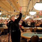 Will the Rio Amazon Room be celebrating a record-tying 11th WSOP bracelet for Doyle Brunson today?