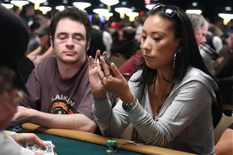Evelyn Ng at 2009 WSOP