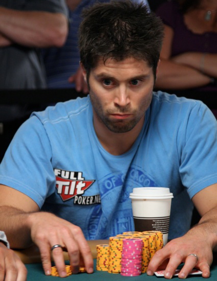 The Intense Stare of Scott Clements is intensely staring down a potential third bracelet.