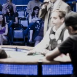 THO Girl showed up to sweat the Event #14 final table, eventually won by Brock Parker.