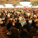 Will the 2009 WSOP Main Event even top 2005's numbers? And after five years, will we officially retire this photo?