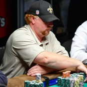 Darvin Moon, a ginger, is helping make this one of the least interesting potential final tables ever.