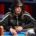 Spain's Leo Margets has taken command in the Last Woman Standing race at the 2009 WSOP Main Event.