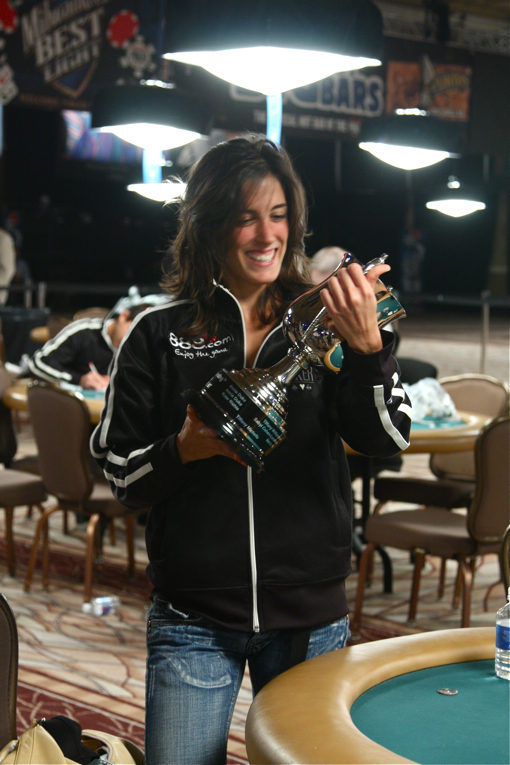 Leo Margets is the first Wicked Chops Poker/RawVegas.tv Last Woman Standing Cup(TM) winner.
