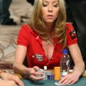 Isabelle Mercier busted on the poker scene at the 2004 WPT Ladies Event and then again in 2008 with a fantastic new rack.