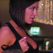At last! Leave it to durrrr's girlfriend's friend to give us our first slam dunk 2009 WSOPE Girl on the Rail.