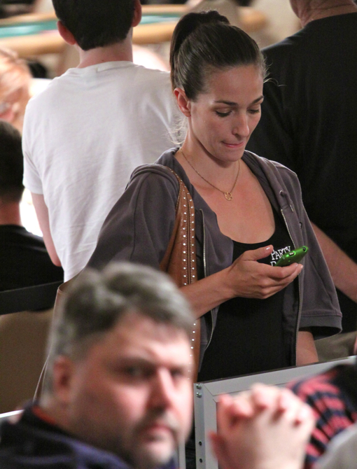 Kara Scott - 2010 WSOP Girl on the Rail