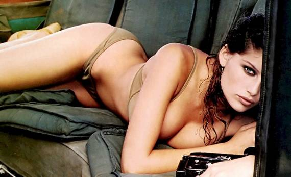 French supermodel Laetitia Casta certainly disapproves of the French national team's performance at the 2010 World Cup