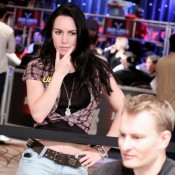 We chimed in on an Andrew Feldman chat on ESPN yesterday, and Mike from MN wanted some GOTR pics, so we hope a little Liv Boeree On the Rail works for you...