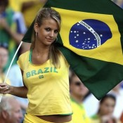 "Maybe a WCP ""Girls in the Stands"" feature during the World Cup? God bless the brazilians."