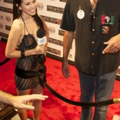 Brad Garrett (right, above) was one of the celebs on the red carpet at the 2010 WSOP Ante Up for Africa poker tournament