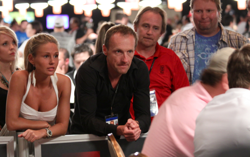 Rachel Nordtomme Petter Northug 2010 WSOP