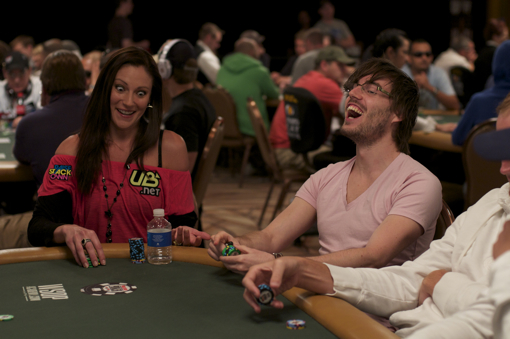 Samantha Ryan 2010 WSOP poker photo