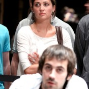 Jason Mercier (foreground) had his eyes set on the $5k PLO title but went out in 16th place.