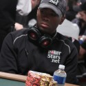 Imari 'Doctor' Love (his nickname for himself, not our creation) is not a hot female co-host of a morning drive-time R&B radio show. He does however remain at the 2010 WSOP Main Event.