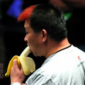 Johnny Chan ended WSOP Main Event Day 1C as top banana...