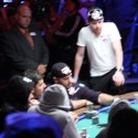 "Michael ""The Grinder"" Mizrachi fought his way to a November Nine(TM) final table appearance."