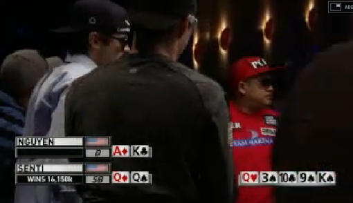 Soi Nguyen Eliminated in 9th