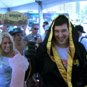 So what logo will Phil Hellmuth be wearing during next year's WSOP entrance?