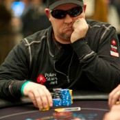 Chris Moneymaker makes a run at another remarkable Day 2 appearance.
