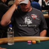 Erick Lindgren just dusted the field on Day 1A of the 2011 Aussie Millions Main Event.