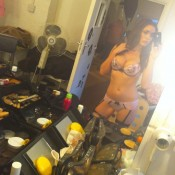 Victoria Moore Self-Shot Lingerie Photo