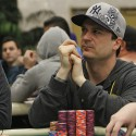 Yes, Joe DeNiro is Day 2 WPT LAPC chip leader. No, he's not related.
