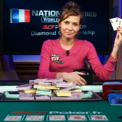 Natalia Nikitina, a woman, has done what no woman before here has done: win a WPT open event.