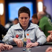 We'll go out on a limb and say that Vanessa Selbst is on the verge of becoming the first woman to win the same major event in back-to-back years.