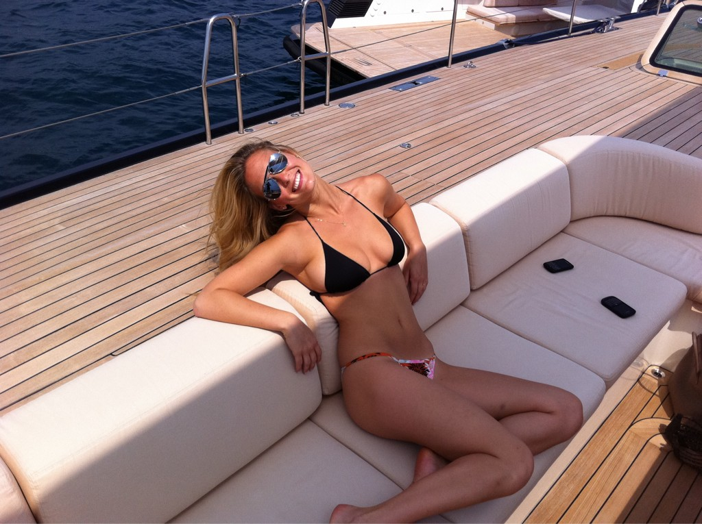 Bar Refaeli twitter photo bikini