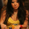 Maria Ho is looking good going into Day 2 of the $1,500 donkament.