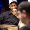Phil Ivey calmly ate an apple without a care in the world while reading Full Tilt's response to his lawsuit.