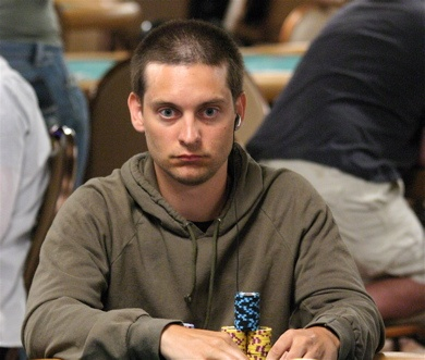 Tobey Maguire Poker