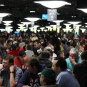 The 2011 WSOP Day 1A field looked more packed than it really was, as 897 entered.