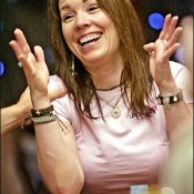 Annie Duke is betting that Epic Poker's success will be thiiiisss big.