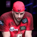 "Michael ""The Grinder"" Mizrachi is the male Shannon Elizabeth when it comes to sponsorships: Absolute Poker, Planet Hollywood, all the shit on his shirt above, Deliverance, Full Tilt, and now the Breeders' Cup."