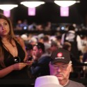 We'll be looking for Bahara Badih's daughter/girlfriend/wife at the November Nine final table.