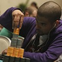 David Williams just kept stacking chips during Day 3 of the WPT Borgata Poker Open.