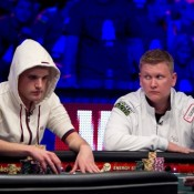 Pius Heinz, Ben Lamb, and that other guy will come back to compete for the 2011 WSOP Main Event title on Tuesday.