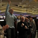 Antonio Esfandiari's dad (above if you didn't figure that out) celebrates his son's chances of repeating as WPT Five Diamond champ.