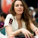Liv Boeree is pretty. And bagged 34,000 in chips going into Day 2.