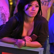 Xuan Liu is still looking good at the 2012 PCA, as she's stacked third overall going into final table play.