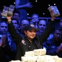 A deeply religious, ridiculously nice and philanthropic wins $8M in the biggest poker tournament of the year, when many considered him the worst player in the entire field? Even Hollywood couldn't make that up.