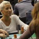 Ebony Kenney, a woman, is making a run at becoming the first WPT open event female winner.